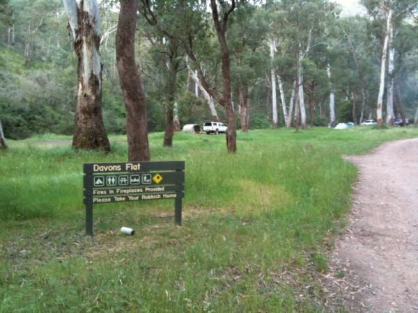 Davons Flat Camping Area