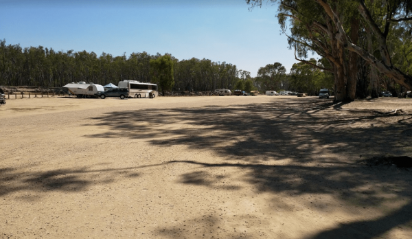 Finlays Beach Camping Area