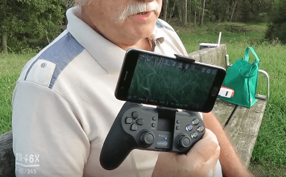 GameSir T1S OTG Controller and DJI Ryze Tello Mini Quad review