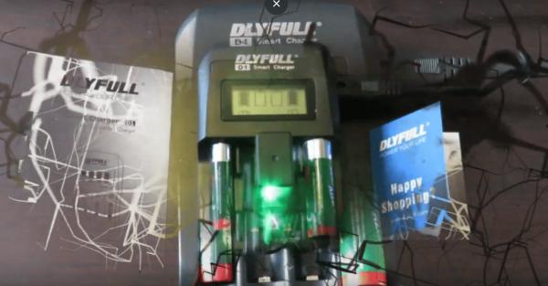 DLYFull D1 Smart Battery Charger