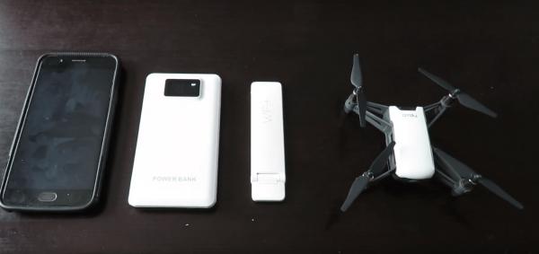 Xiaomi Mi WiFi Extender 2 and the DJI Ryze Tello Quadcopter