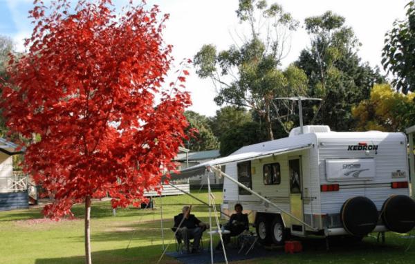 Beechworth Lake Sambell Caravan Park