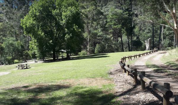 Lightning Creek Camping Area