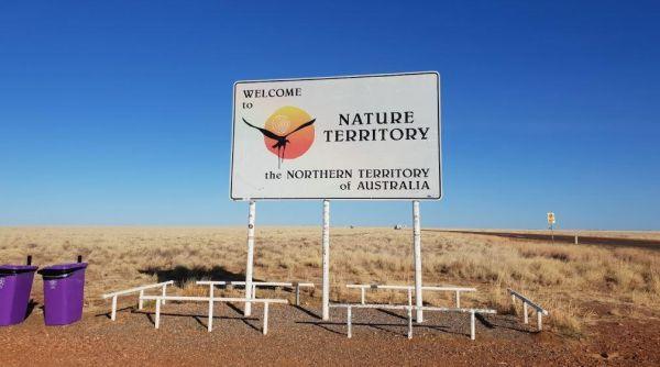 Rest Stop - Northern Territory - Queensland Border (Barkly Highway)