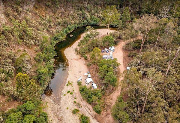 McKinnon Point Camping Area