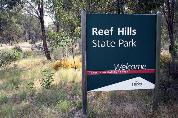 Reef Hills State Park Camping Area