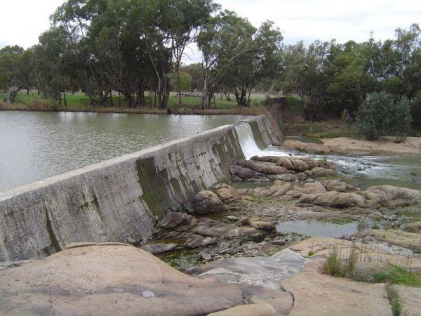 Booberoi Weir Camping Area