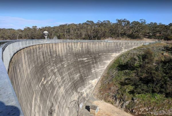 Barossa Reservoir Whispering Wall