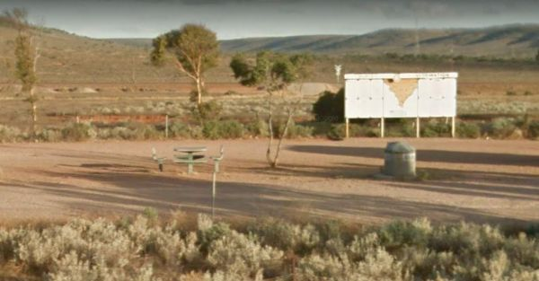 Lincoln Eyre Highway Junction Rest Area