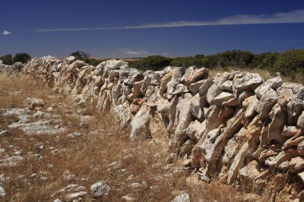 Dry Stone Walling Rest Area