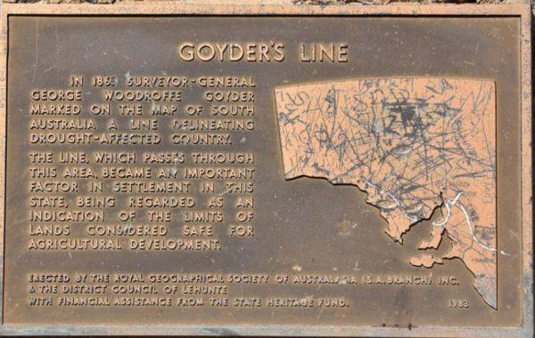 Goyder's Line Memorial Rest Area