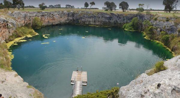 Little Blue Lake Rest Area