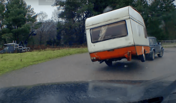 Speed, Speed and more Speed makes for an interesting Caravan Ride