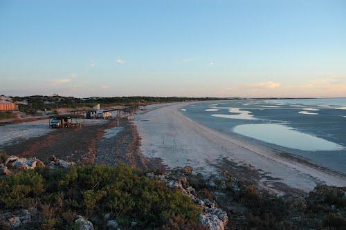 Perlubie Beach Camping Area