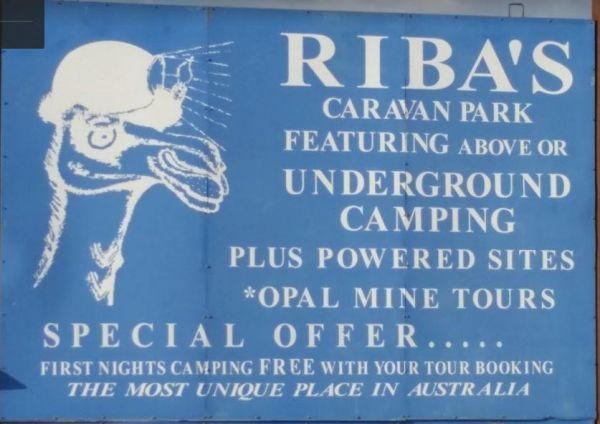 Riba's Underground Camping & Caravan Park