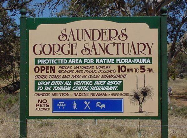 Saunders Gorge Sanctuary
