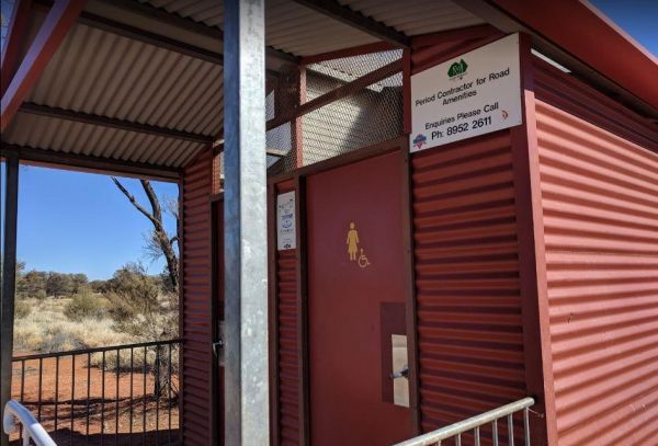 South Australia - Northern Territory Border Rest Area