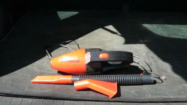 SehenTools 12V 60W  car vacuum cleaner with LED light