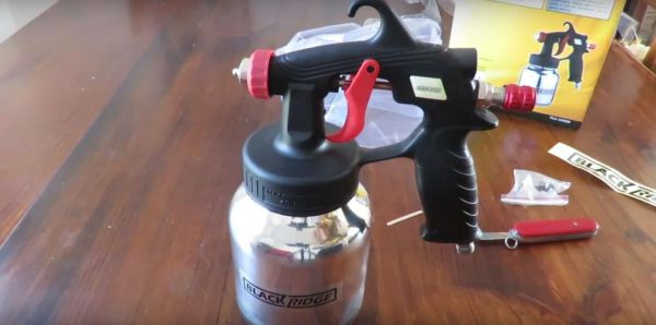 BlackRidge Low Pressure Air Spray Gun Review