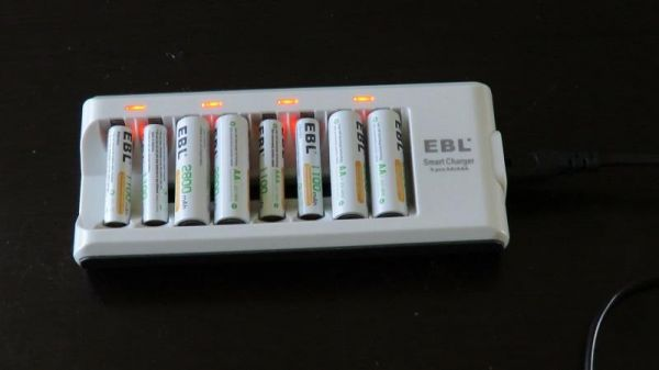 EBL Smart Battery Charger Review