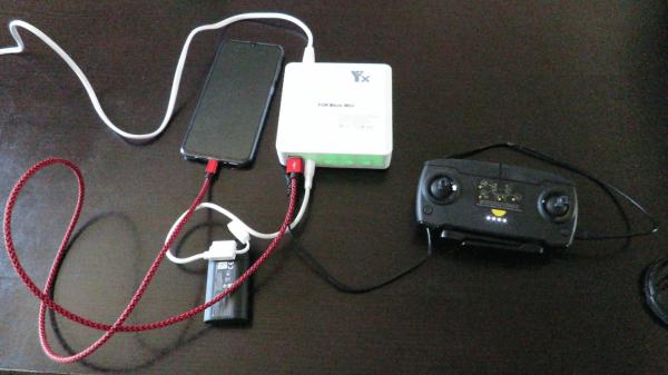 DJI Mavic Mini Fast Charging 6 in 1 Battery Hub