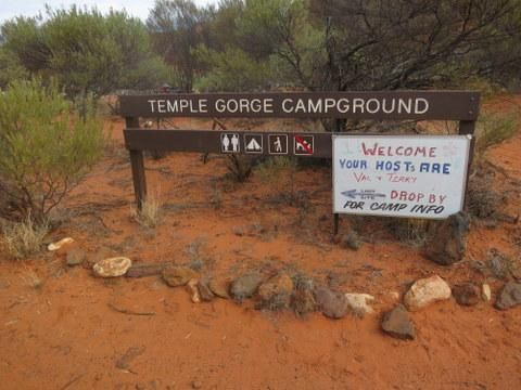Temple Gorge Campground