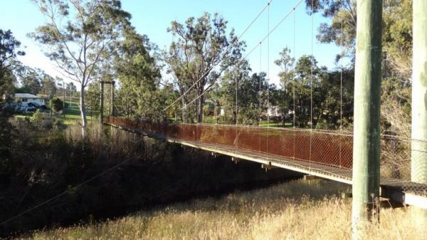 Cooyar Swinging Bridge Park