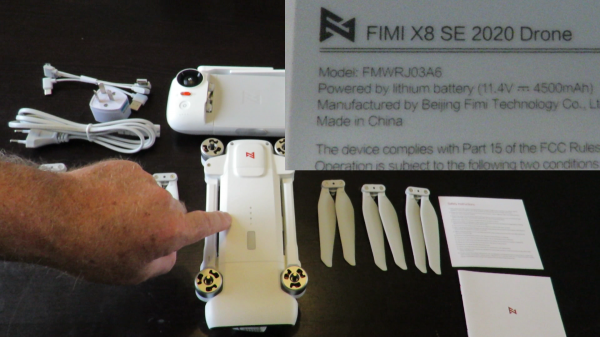 Fimi X8 SE 2020 Edition Unboxing Review and First Flight