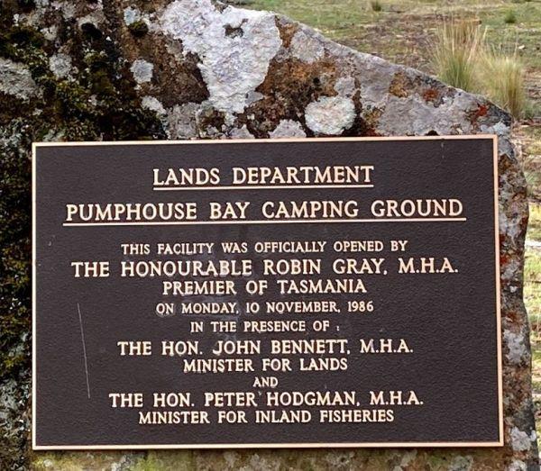 Pump House Bay campground