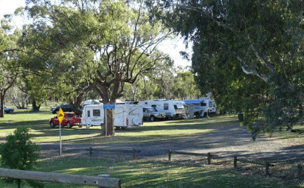 Gum Bend Lake Camping Area