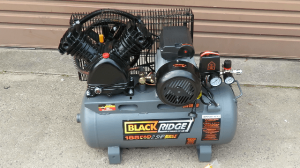 BlackRidge 185 LPM Portable Air Compressor Review