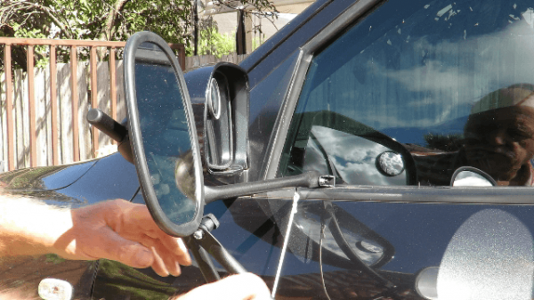 Drive Towing Mirror - With a Magnetic Support Pad