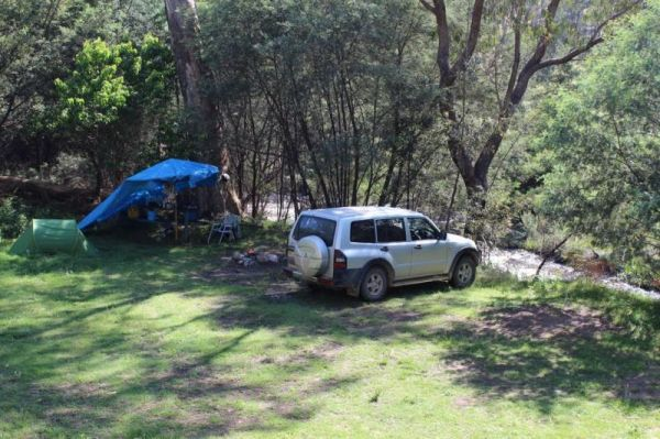 Pinch River Camping Area