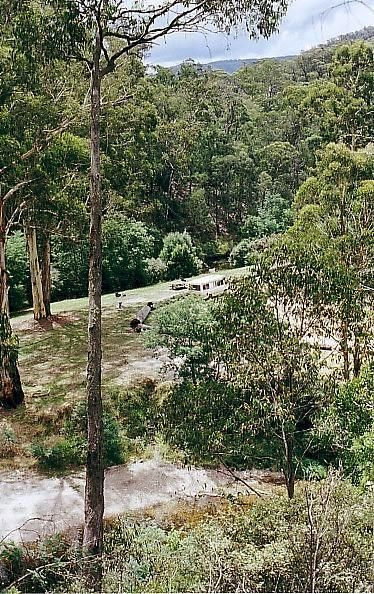 Baw Baw National Park - Aberfeldy River Camping Area
